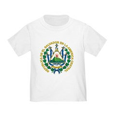 El Salvador Coat Of Arms T