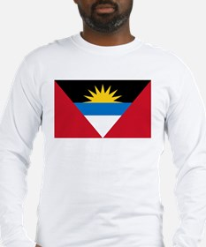 Antigua & Barbuda Flag Long Sleeve T-Shirt