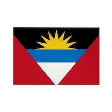 Antigua & Barbuda Flag Rectangle Magnet