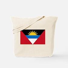 Antigua & Barbuda Flag Tote Bag
