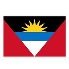Antigua & Barbuda Flag Postcards (Package of 8)