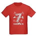 Number Seven Birthday T-shirt