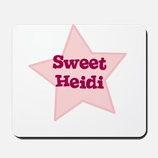 Sweet Heidi Mousepad
