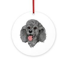 YorkiePoo Ornament (Round)
