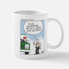 Weekend Bait Bucket Fishing Mug