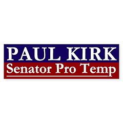 Paul Kirk: Senator Pro Temp Bumper Bumper Sticker