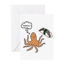 Riyah-Li Designs Octopus Mommy Greeting Card