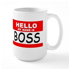 My name is BOSS Coffee Mug