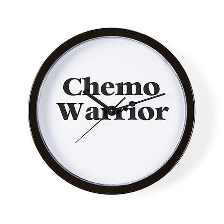 Chemo Warrior Wall Clock