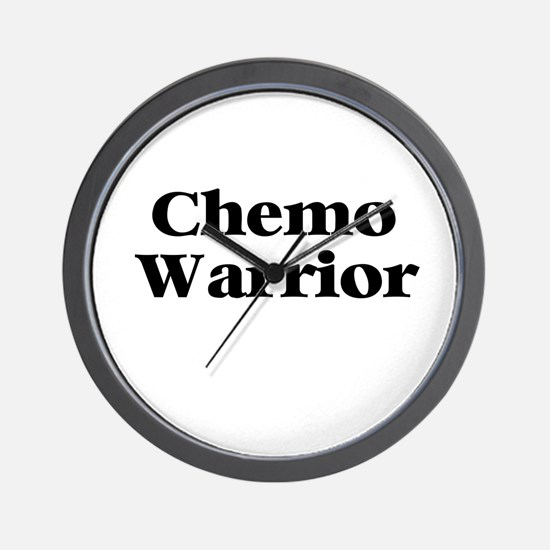 Chemo Warrior Wall Clock