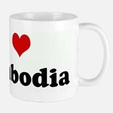 I Love Cambodia Mug