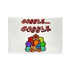 Cute First thanksgiving Rectangle Magnet (100 pack)