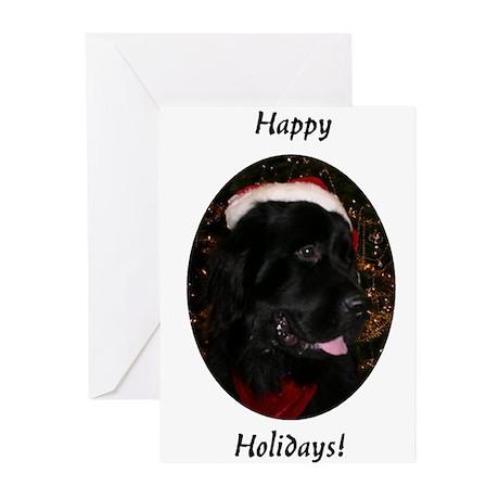 Newfoundland Dog Holiday Greeting Cards (Pk of 10)