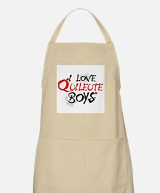 I Love Quileute Boys BBQ Apron