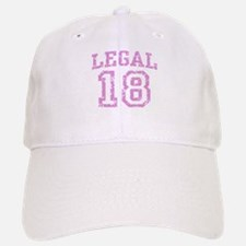 Legal 18 Baseball Baseball Cap