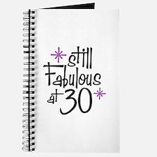 Still Fabulous at 30 Journal