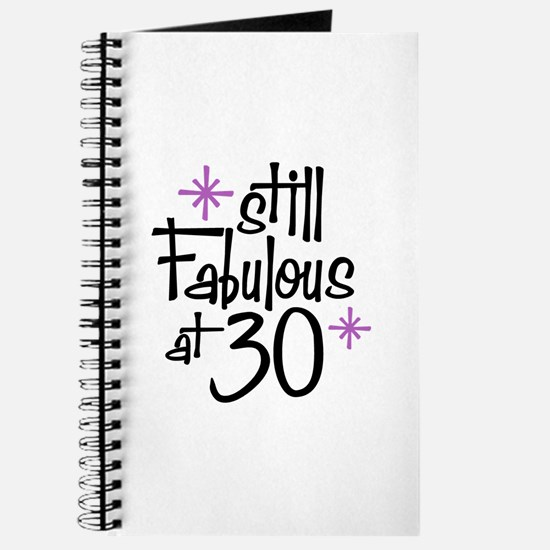 Still Fabulous at 30 Journal