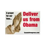 Deliver us from Obama Rectangle Magnet (100 pack)