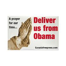 Deliver us from Obama Rectangle Magnet