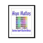Hope Matters Framed Panel Print
