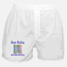 Hope Matters Boxer Shorts