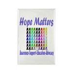 Hope Matters Rectangle Magnet (100 pack)