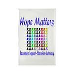 Hope Matters Rectangle Magnet