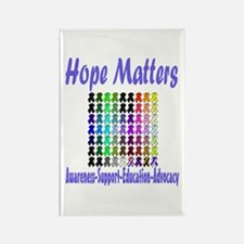 Hope Matters Rectangle Magnet