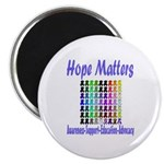 """Hope Matters 2.25"""" Magnet (10 pack)"""