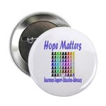 """Hope Matters 2.25"""" Button (100 pack)"""