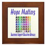 Hope Matters Framed Tile