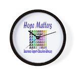 Hope Matters Wall Clock