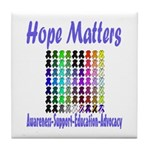 Hope Matters Tile Coaster