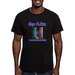 Hope Matters Men's Fitted T-Shirt (dark)
