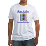 Hope Matters Fitted T-Shirt