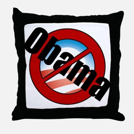 Obama Buster Throw Pillow