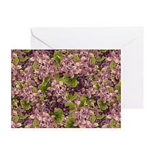 Vintage Purple Hydrangea GreetingCards (Pk of 10)