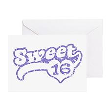 Sweet 16 Greeting Card