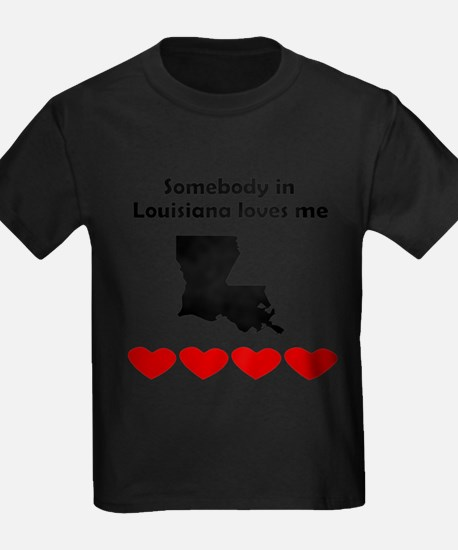 Somebody in Louisiana Loves Me T-Shirt