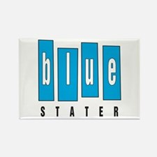 Blue Stater (Rectangle Magnet)