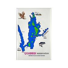 Quabbin Reservation Rectangle Magnet