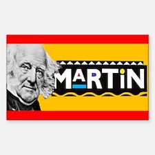 Martin Van Buren Bumper Decal