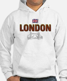 London with Tower Bridge Desi Hoodie