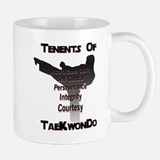 Tae Kwon Do Tenants Coffee Mug