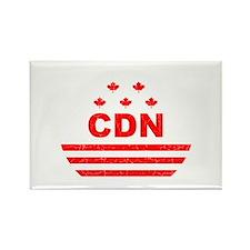 CDN Strange Brew Logo Rectangle Magnet