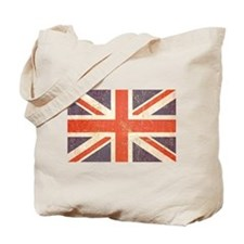 Unique Union jack Tote Bag
