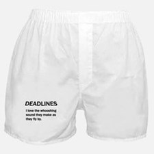 Funny Family and life humor Boxer Shorts