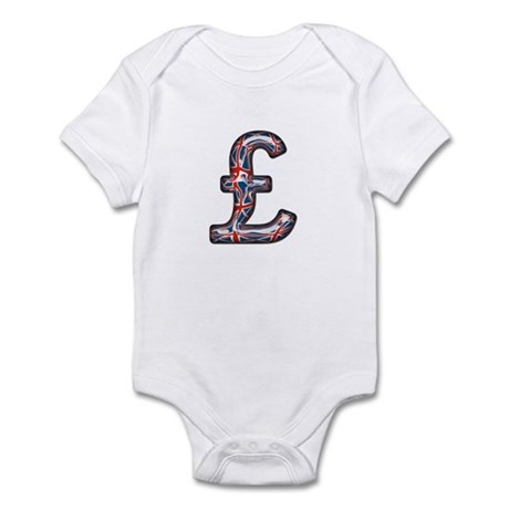 Pound Sign Union Jack Infant Bodysuit