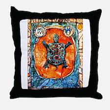 Turtle Totem Throw Pillow