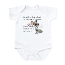 Outside a Dog Infant Bodysuit